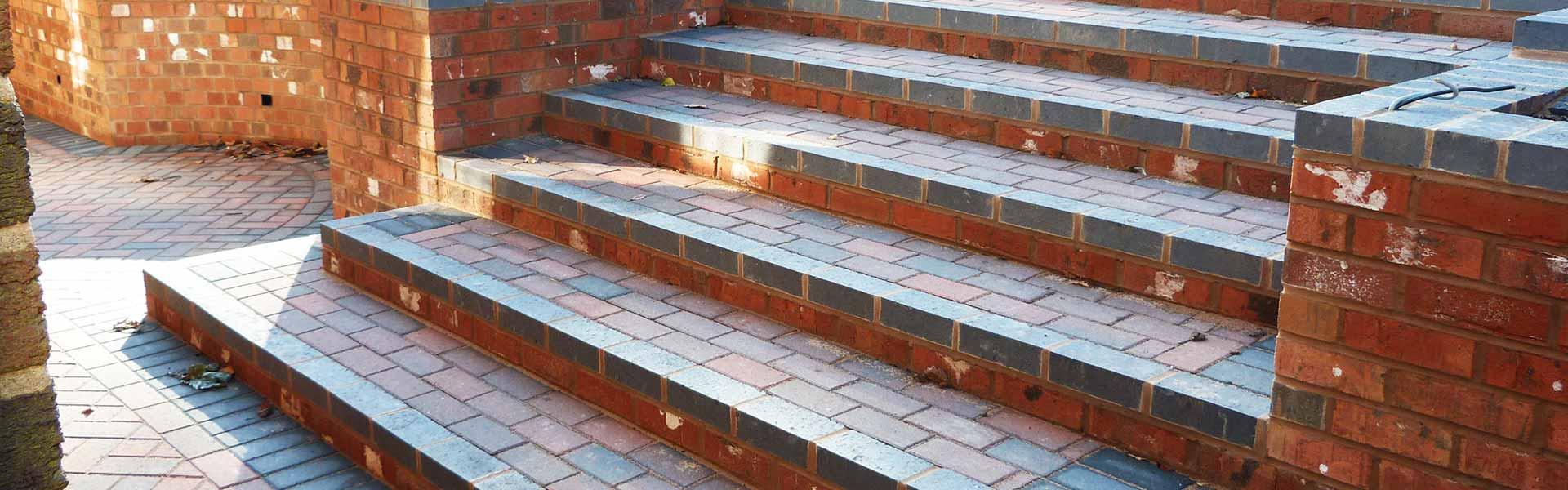 Brick Walls and Steps Solihull